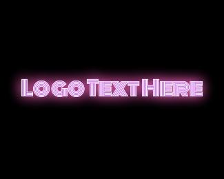 Sass - Pink Neon logo design