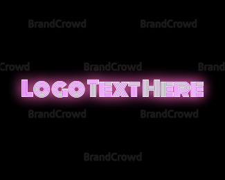 """""""Pink Neon"""" by BrandCrowd"""