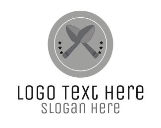 Dish - Silver Spoons logo design