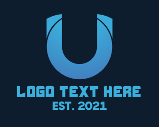 """""""Tech Business Letter U"""" by MusiqueDesign"""