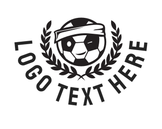 Soccer Tournament - Football Mascot logo design