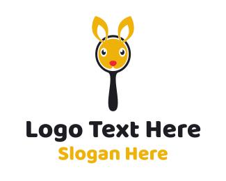 Search Engine - Bunny Mirror logo design