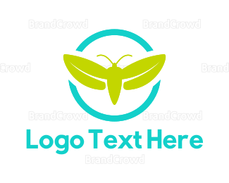 Beetle - Green Firefly logo design