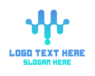 Beat - Modern Gradient Party Beat logo design