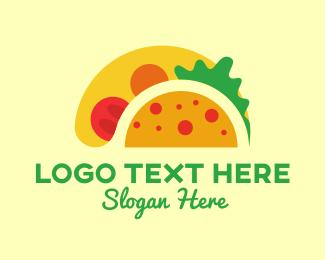 Taqueria - Big Taco logo design