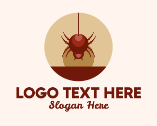 Spider - Red Spider  logo design