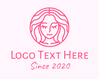 Goddess - Hair Salon Lady logo design
