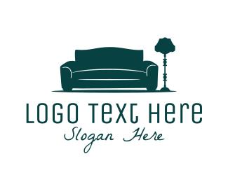 Coach - Sofa & Lamp logo design