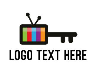 Key - Media Key logo design