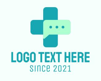 Medical Center - Medical Chat logo design