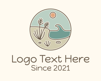 Lakeshore - Outdoor Beachside logo design