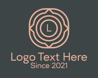 Design - Geometric Floral Design logo design