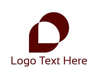 Leaf - Maroon Leaf logo design