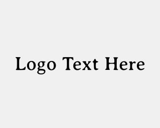 Typography - Rustic Wordmark logo design