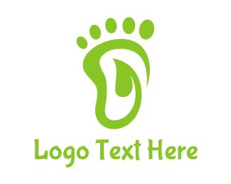 """""""Leaf Foot Footprint"""" by town"""