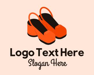 Shoes - Cute Feminine Shoes  logo design