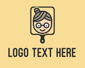 Grandma - Grandma Baking Pan logo design