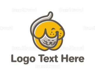 Adorable - Puppy & Kitten logo design