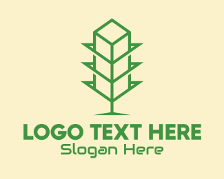 Ecofriendly - Green Tower Shop logo design