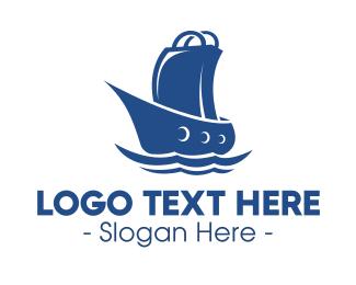 Shop - Marine Shopping Store logo design