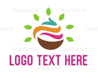 Dairy - Natural Yogurt logo design
