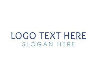 Easy - Casual & Blue logo design
