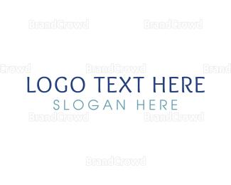 Casual - Casual & Blue logo design