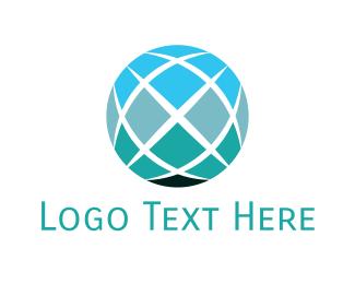 World - Digital Globe logo design
