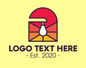 Light - Electrical Light Bulb logo design