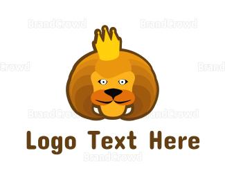 Kids Party - Royal Lion logo design