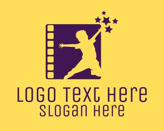 Movie - Happy Kid Show logo design