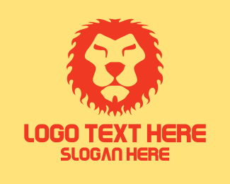 Gaming Console - Red Lion King logo design