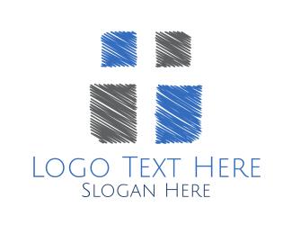 Faith - Christian Cross logo design