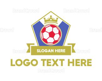 Barcelona - Sport Soccer Emblem  logo design