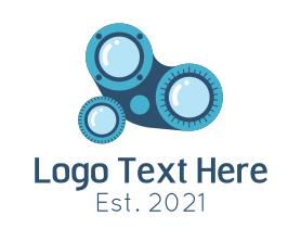 Steampunk - Ophthalmologist Equipment logo design