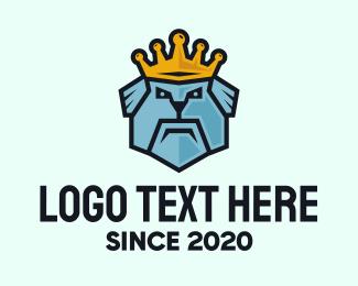 Trainer - King Dog logo design