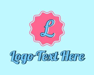 Playful - Playful Pink Badge logo design