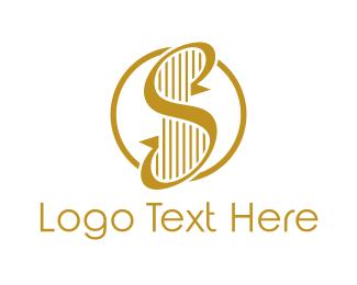 Elegant - Elegant S Harp logo design