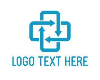 Drug Store - Arrow Cross logo design