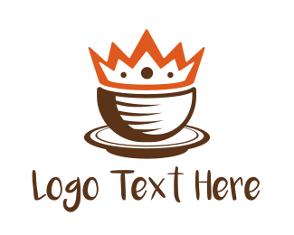 Crown - Coffee Cup King logo design
