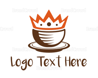 Cup - Coffee Cup King logo design