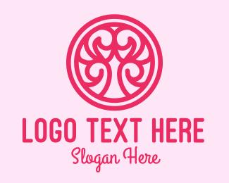 Spa And Wellness - Pink Beauty Decor  logo design
