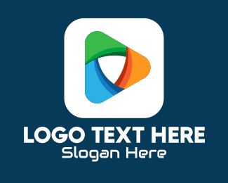 Production Studio - Media Player Mobile App logo design