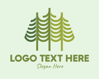 Conifer - Pine Tree Patch logo design