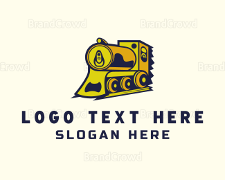 Alcohol Delivery - Can Express logo design