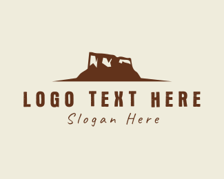 Desert - Desert Mountain logo design