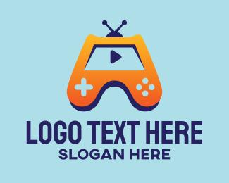 Gamer Youtube Vlogger Logo