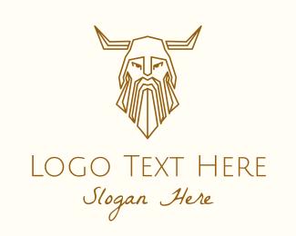 Viking - Medieval Viking logo design