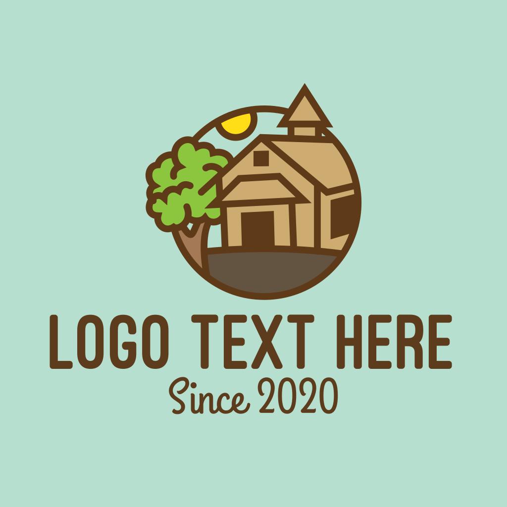 Countryside Farmhouse Logo   BrandCrowd Logo Maker