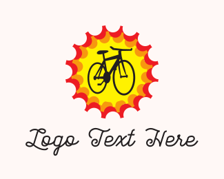 Bike Tour - Bright Bike logo design